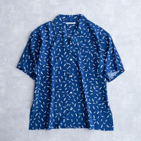 DISCOVERED PATTERN SHIRT(NAVY)
