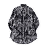 Iroquois MIXED PATTERN JQ DENIM SH(BLACK)