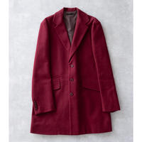 DISCOVERED LONG JACKET COAT(WINE)