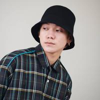 DISCOVERED FELT HAT(BLACK)