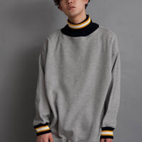 DISCOVERED BIG RIB LINE SWEAT(GRAY)