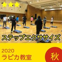 ステップエクササイズ【水曜19:30~/2020秋】