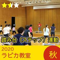 踏み台(ステップ)運動【水曜10:00~/2020秋】