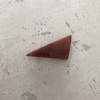 triangle barrette brick × navy