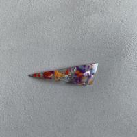 triangle barrette  small    chip series