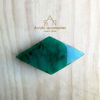 rhombus barrette    large