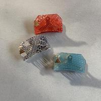 bandanna hair clip  small