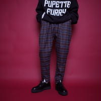 【CLASSIC ROV】 RELAX PANT[CHECK-BRW×GRY×NVY]/7B20090504