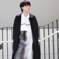 【CLASSIC ROV】(特選ミラノジャージ素材) GENDERLESS SC COAT [BLACK]