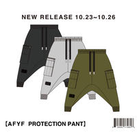 【AFYF】HARD NYLON PROTECTION PANTS / 7B18080100
