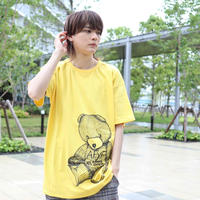 【AFYF ON GILDAN社】 RAINBOW BEAR T SHIRT [DIGGY YELLOW] / 4T20031801