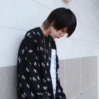 【AFYF】10 OZ SWEAT CREW [XOXO-BLACK]