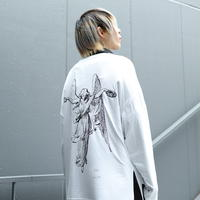 【AFYF】BASIC OVERSIZED GRAPHIC LST [ANGEL-Ⅰ-WHITE]