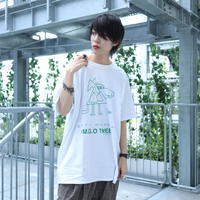 【AFYF ON GILDAN社】 SOUVENIR T SHIRT3 DRAWDOG [WHITE]