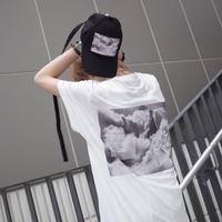 【AFYF】 COOL TECH (冷感接触素材) PRINT TRIANGLE TEE [CLOUD DREAM-WHITE]