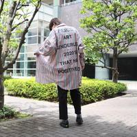 【AFYF】LONG BIG SHIRT [PRINT-CAMEL/RED]