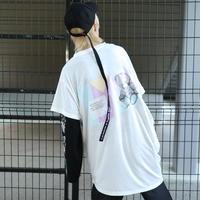 【AFYF】 COOL TECH (冷感接触素材) PRINT TRIANGLE TEE [BABY BLOCK-WHITE]