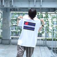 【AFYF ON GILDAN社】 🌈# U LOVES FRIEND T-SHIRTS FLAG H [WHITE] / 4T20031901