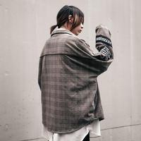 【AFYF】[STEWART SCHNEIDER JRシグネーチャー モデル] ZIP SHIRT[GRY CHECK]
