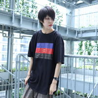 【AFYF ON GILDAN社】 🌈# U LOVES FRIEND T-SHIRTS FLAG E [BLACK] / 4T20031901