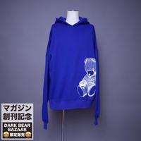 ダークベアーバザール 限定生産アイテム【AFYF】 SPECIAL 裏起毛 DROP SHOLDER PARKA 【DARK BEAR-ROYAL BLUE】 / 8K20090409