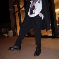 【ROVTSKI】RELAX TEPARD PANT [#22 BLACK]