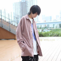 【AFYF】 JACKET SHIRT  [SMOKE PINK] /1S19110901