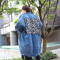 【AFYF】DENIM BOA INNER LONG BIG G JAM[CHEMICAL WASH-EMOTIVE]