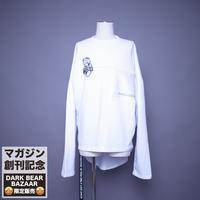 ダークベアーバザール 限定生産アイテム【AFYF】SPECIAL SKELETON  SWEAT  【DARK BEAR-WHITE】/ 7K20090407