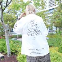 【AFYF】 OPENEND LS T SHIRT [TSUMU TSUMU BEAR-WHITE]