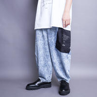 【AFYF】 ICON ALADIN PANT [CHEMICAL INDIGO]