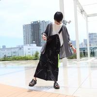 【AFYF】 BASICS SALOPETTE PANT [総柄VANDA] /XB18051705