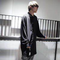 【ROVTSKI】 LONG SHIRT [BLACK]