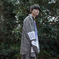 【AFYF】BASIC OVERSIZED LONG ZIP SHIRT  [BEIGE/BLACK]