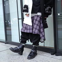 【AFYF】BASIC FETI MID SKIRT [BLACK/WHITE/GRAY]