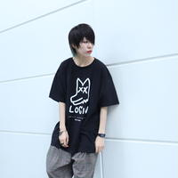 【AFYF ON GILDAN社】 SOUVENIR T SHIRT3 PEKE DOG [BLACK]