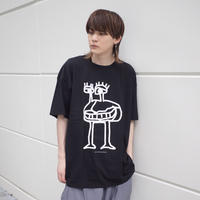 【AFYF ON GILDAN社】 SOUVENIR T SHIRT3 MONSTER [BLACK]