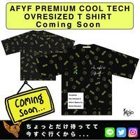 【AFYF】PREMIUM COOL TECH (冷感接触素材) OVRESIZED T SHIRT [PEKE NIRVAISM-BLK]
