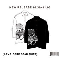 【AFYF】POLY DARK BEAR SHIRT / 7S17091501