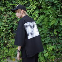 【AFYF】 COOL TECH (冷感接触素材)  PRINT BIGTEE [DARK BEAR CLOUD-BLACK] / 4T20021527