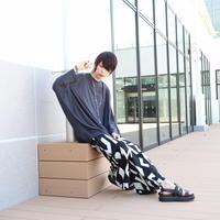 【AFYF】 COOL TECH (冷感接触素材) DORMAN OVERSIZED TEE [INC BLACK] / 4C20021504