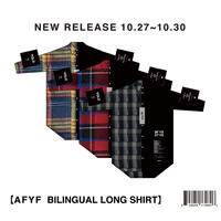 【AFYF】BILINGUAL LONG SHIRT / 8S20090701