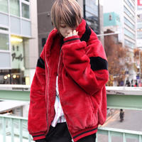 【AFYF】FUR BLOUSON[RED]