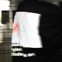 【AFYF】PREMIUM COOL TECH (冷感接触素材) OVRESIZED T SHIRT 2 [ X-RAY-BLK]