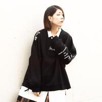 【AFYF】OVERSWEAT LS[BLACK]
