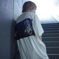 【AFYF】 COOL TECH (冷感接触素材) PRINT TRIANGLE TEE [MIDNITE JERNY-WHITE]