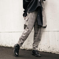 【AFYF】 TAPERED PANT[GRY CHECK]