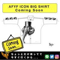 【AFYF】  ICON BIG SHIRT[ELEPHA-WHT]