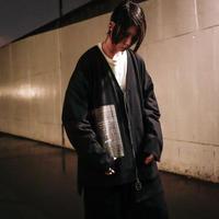 【AFYF】[MICHELL DE MARTINI シグネーチャー モデル]  V ZIP SHIRT[BLACK]