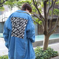 【AFYF】DENIM BOA INNER LONG BIG G JAM[MID INDIGO-EMOTIVE]